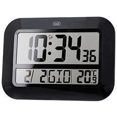 Orologio Digitale Da Parete Radiocontrollato Om 3540 D Nero