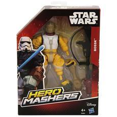 Star Wars Mashers Eroe - Figurine Di Base, Modelli Assortiti, 1 Pezzo - Bossk