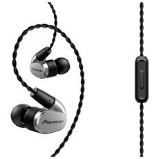 SE-CH5T Auricolare Stereofonico Cablato Argento auricolare per telefono cellulare