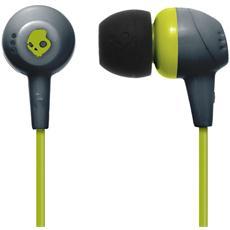 Jib Auricolari In-Ear colore Lime / Grigio