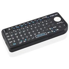 Tastiera Wireless 2.4GHz (10m) , QWERTY, 95g, Nero