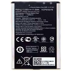 Batteria Nuova Originale C11p1501 2900 Mah Per Zenfone Selfie Zd551kl, Zenfone Laser Ze601kl Venduto In Bustina Bulk Senza Scatola