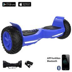 Hoverboard Off Road Balboard Tank Ruote 8.5'' Colore Blu Suv