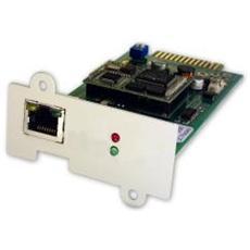 DW7SNMP30, Cablato, Ethernet, 10/100 Mbit / s, Verde, Argento, CE, UL / ETL, 0 - 60 °C