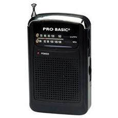 RA114, Portatile, Analogico, 87 - 108 MHz, 3.5 mm, 80g, AAA