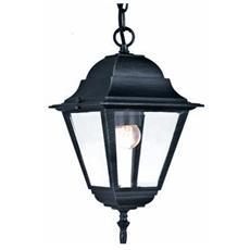 Lanterna per esterno a catena protezione in vetro