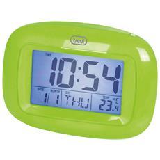 Orologio Sveglia Digitale Con Termometro Sld 3016 Verde