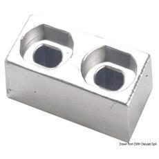 Piastrina alluminio 55/225 HP