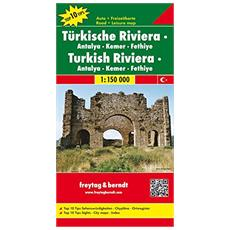 Riviera turca 1:150.000