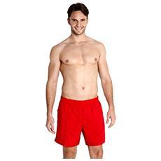 Solid Leis 16 Wsht Am Pantaloncini Da Spiaggia Adulto, Rosso, Xl