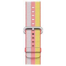 Cinturino in nylon intrecciato rosso (42 mm)