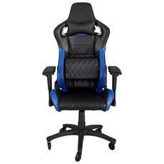 Sedia Gaming T1 Race colore Nero / Blu
