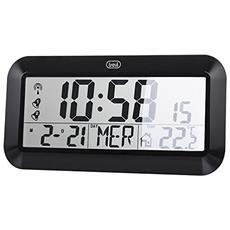 Orologio Digitale Da Parete Radiocontrollato Om 3528 D Nero