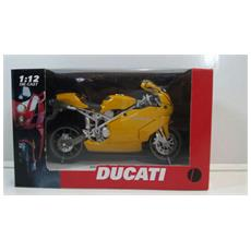 Newray - Ducati 999 Stradale Gialla 1:12 Die-cast