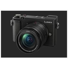 "Fotocamera Digitale Lumix DMC-GX9 20 Mpx Zoom Ottico 4x Display 3"" Filmati 4K UHD USB 2.0"