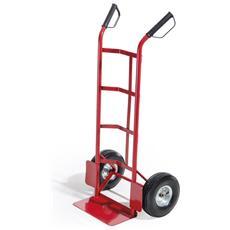 BIACCHI - Carello portatutto rosso kg. 150