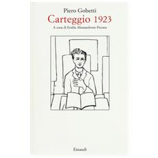 Carteggio 1923