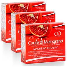 Optima Cuore Di Melograno Magnesio-potassio - 3 Confezioni
