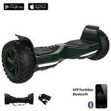 Hoverboard Off Road Balboard Tank Ruote 8.5'' Colore Verde Suv