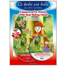 Cappuccetto rosso. Ediz. italiana e inglese. Con CD Audio. Con DVD