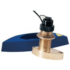 Trasduttore passante triducer in bronzo, Depth / Speed / Temp. 600W, Cavo 12 m (B744V)