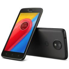 """Moto C Nero 16 GB 4G / LTE Display 5"""" Slot Micro SD Fotocamera 5 Mpx Android Italia"""