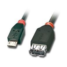 Cavo OTG USB 2.0 Tipo Micro-B / A, 0.5m