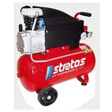 Compressore Stratos Fiac da 50 lt 2 HP aria aspirata 150 lt / min 220 V
