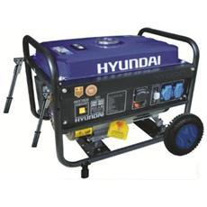 Motogeneratore Hy3000, Benzina, 2,8 Kw / 6,5 Hp