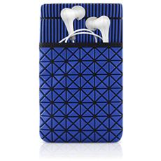 Bone Collection Phone Cell Custodia a sacchetto Blu