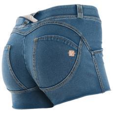 Pantaloncino Donna Wr. up Short Denim Blu Xs