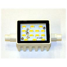 Lampada Led R7s Corta 78mm 6w Luce Naturale 4000k 470 Lumen 220/230v 120° Basso
