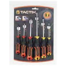 Set 6 Cacciaviti Tactix Taglio / phillips