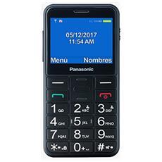 "KX-TU150 Senior Phone Display 2.4"" Micro SD Bluetooth con Tasti Grandi + SOS Fotocamera Colore Nero"