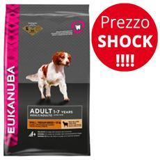 Cibo per Cani Adult Taglia Piccola e Media con Agnello e Riso 12 kg