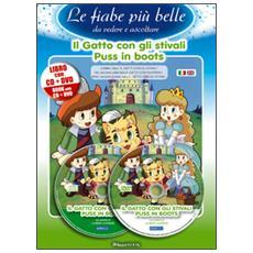 gatto con gli stivali. Ediz. italiana e inglese. Con CD Audio. Con DVD