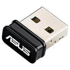 Adattatore Wireless N 150 Mbps Interfaccia Usb 2.0