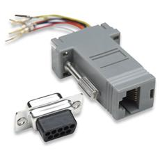 IMA 272 - Adattatore Modulare DB 9p. F / RJ45 8 fili