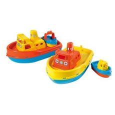 Barca Con Suono+barchetta In Rete