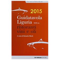 Guida tavola Liguria 2015