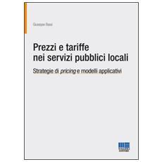 Prezzi e tariffe nei servizi pubblici locali