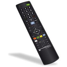Telecomando Di Ricambio Per Televisore Tv Sony Con Simbologia Come Originale