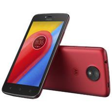 """Moto C Rosso / Grigio 16 GB 4G / LTE Display 5"""" Slot Micro SD Fotocamera 5 Mpx Android Italia"""