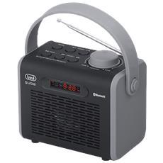 Radio Qube Con Bluetooth, Usb E Mp3 Dr 752 Bt Nero