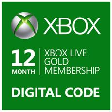 Abbonamento Xbox Live Gold Di 12 Mesi - Esd - Digital Code
