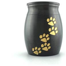 Pet In Acciaio Inox Cane Gatto Da Cane Urn Per Piccolo Animale (altezza 1,6 Pollici X Larghezza 1,2 Pollici) 4cmx3cm