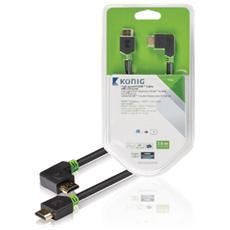 KNV34260E30, HDMI, HDMI, Maschio, Maschio, Dritto, Ad angolo