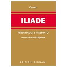 Iliade. Riassunto e personaggi dell'opera
