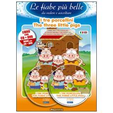 tre porcellini. Ediz. italiana e inglese. Con CD Audio. Con DVD