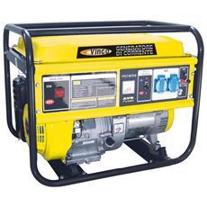 Generatore Monofase Hh-5500, Carrellabile,
